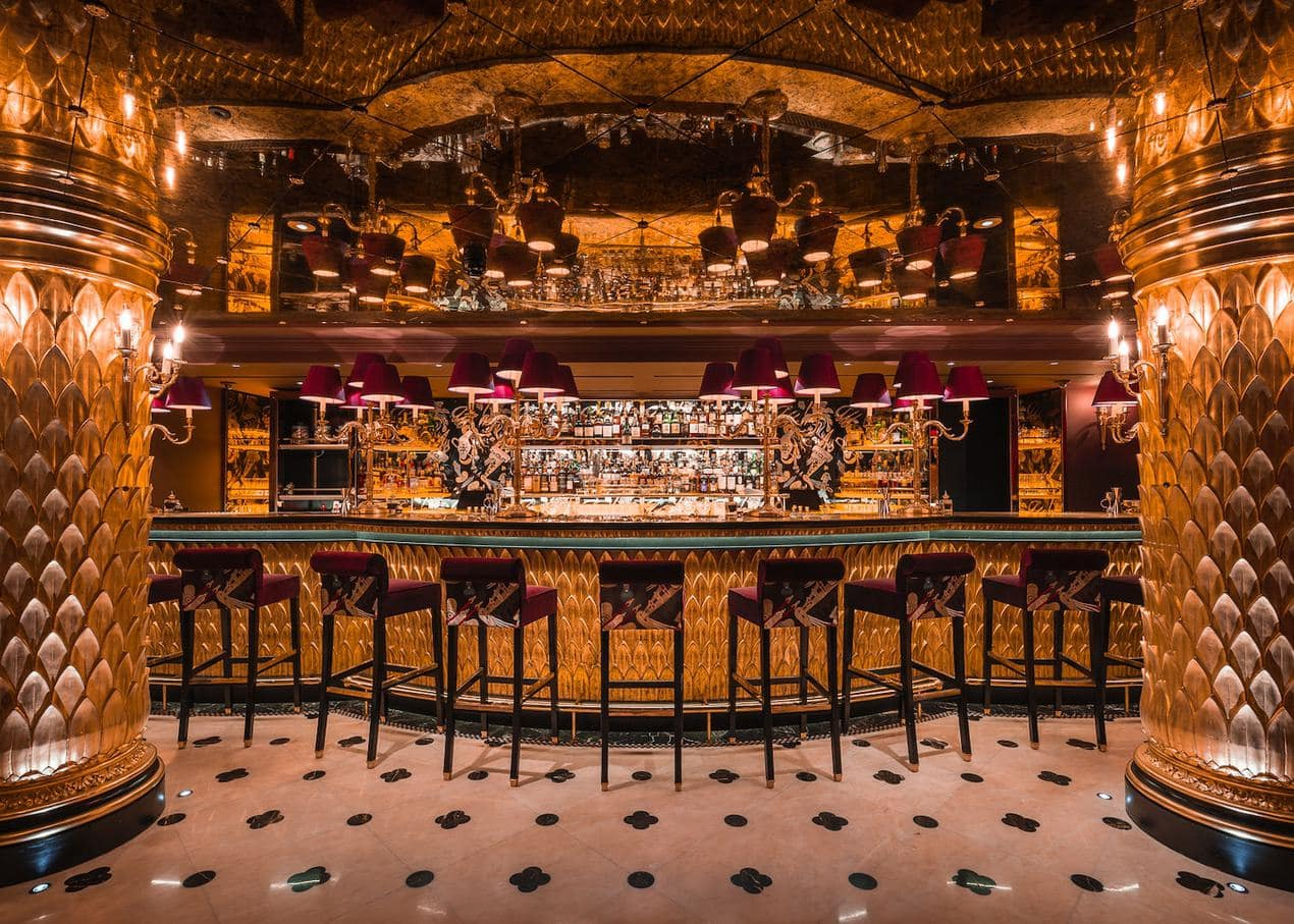 Park Chinois, Wave Bar, Mayfair
