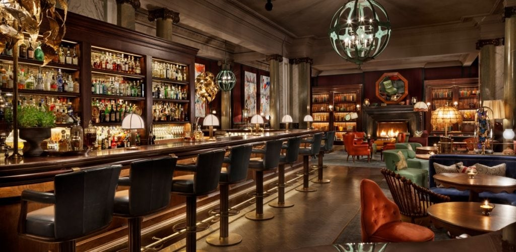 Scarfes Bar at Rosewood London