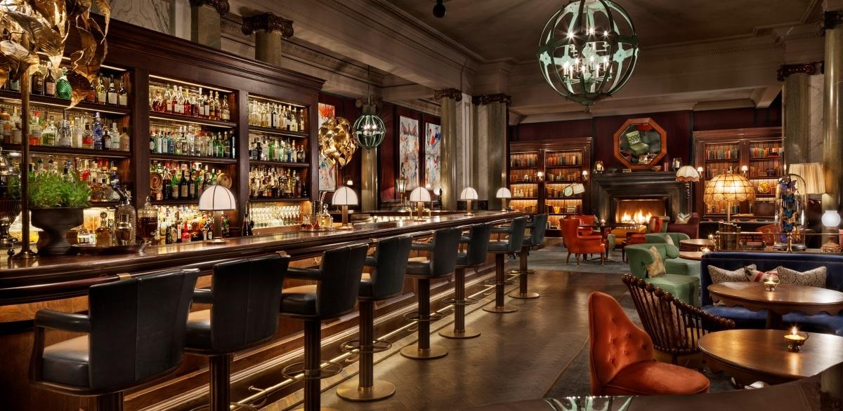 Scarfes Bar at Rosewood London