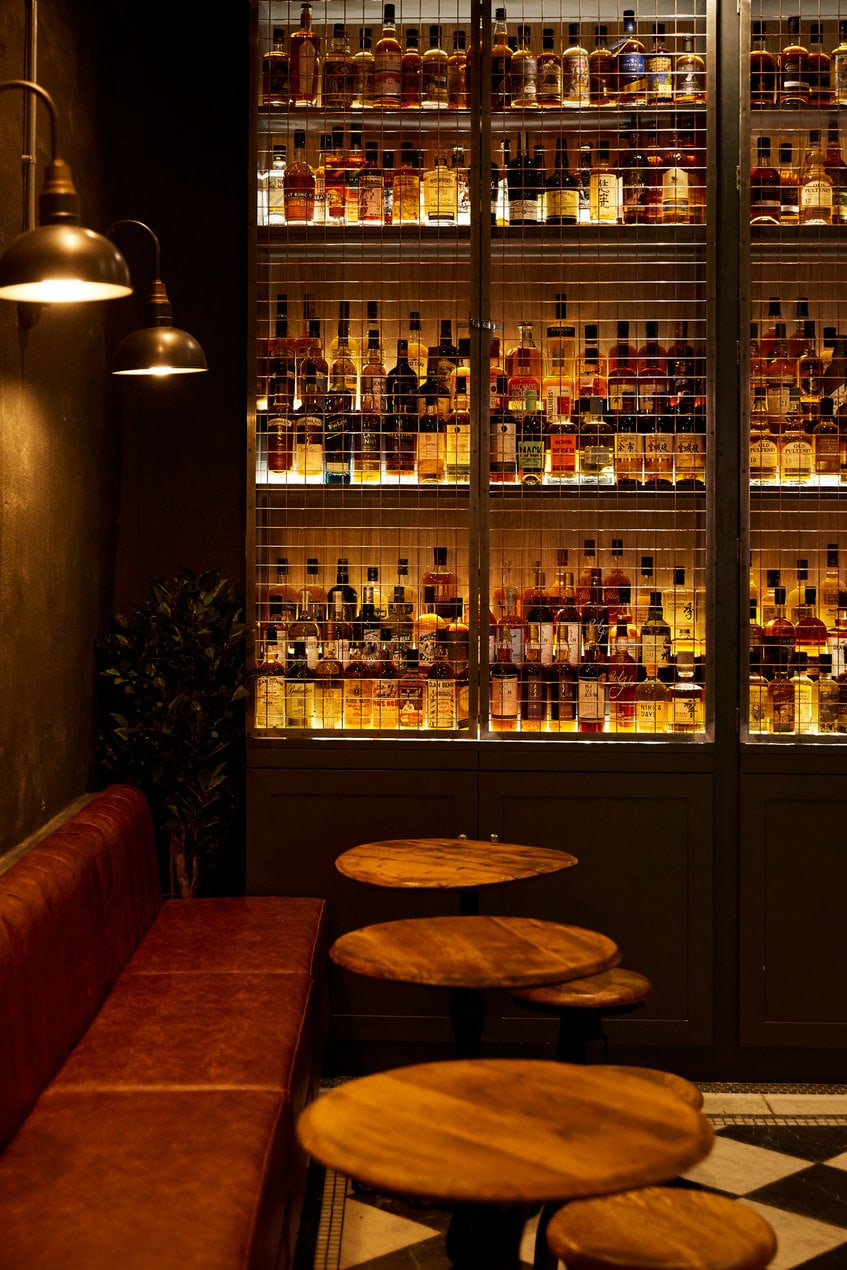 The Whisky Bar Milroys of Spitalfields