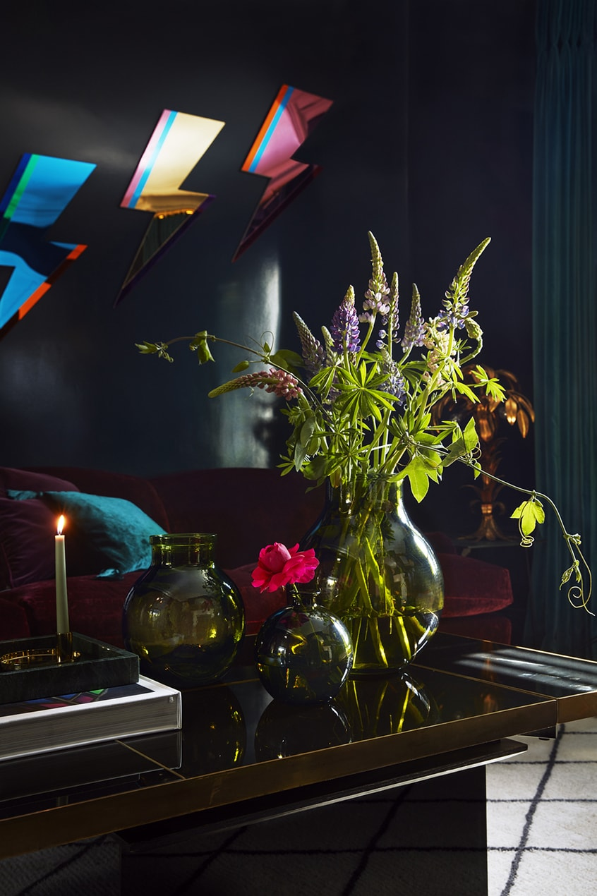Poppy Delevingne living room