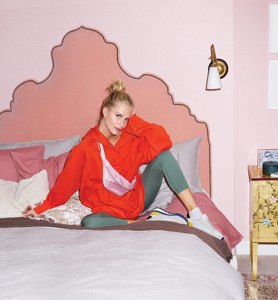 Poppy Delevingne'a bedroom