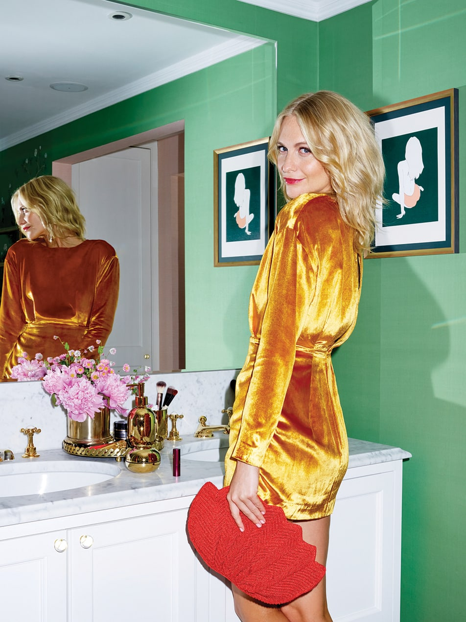 Poppy Delevingne in her downstairs bathroom