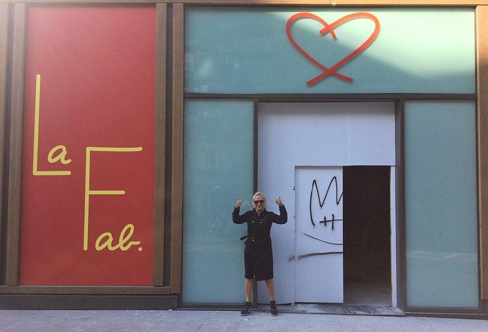 Agnès B.'s New Paris Art Museum La Fab