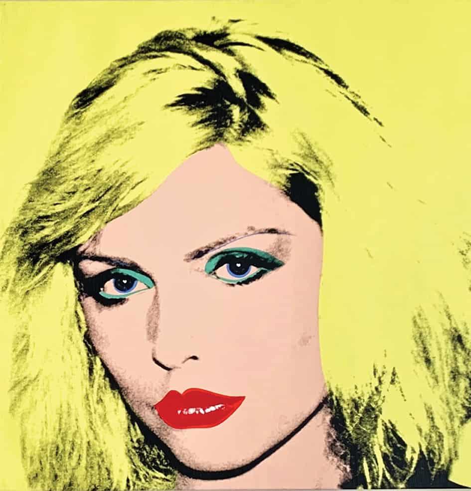 Andy Warhol's Debbie Harry