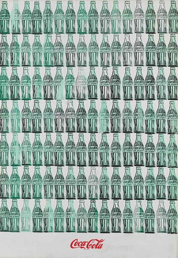 Green Coca-Cola Bottles 1962