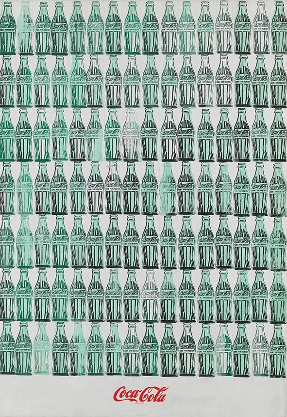 Green Coca-Cola Bottles 1962