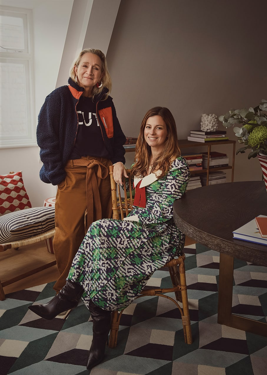 The Collagerie Founders Lucinda Chambers and Serena Hood