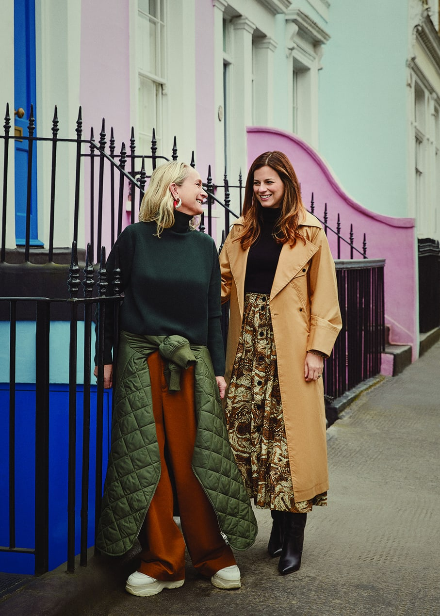 Lucinda and Serena. Photograph by Kensington Leverne
