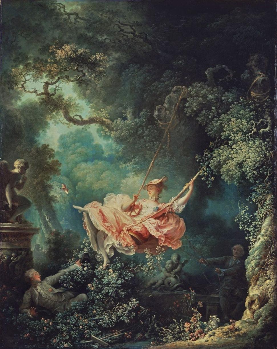 """L'Escarpolette (""""The Swing""""), 1767"""