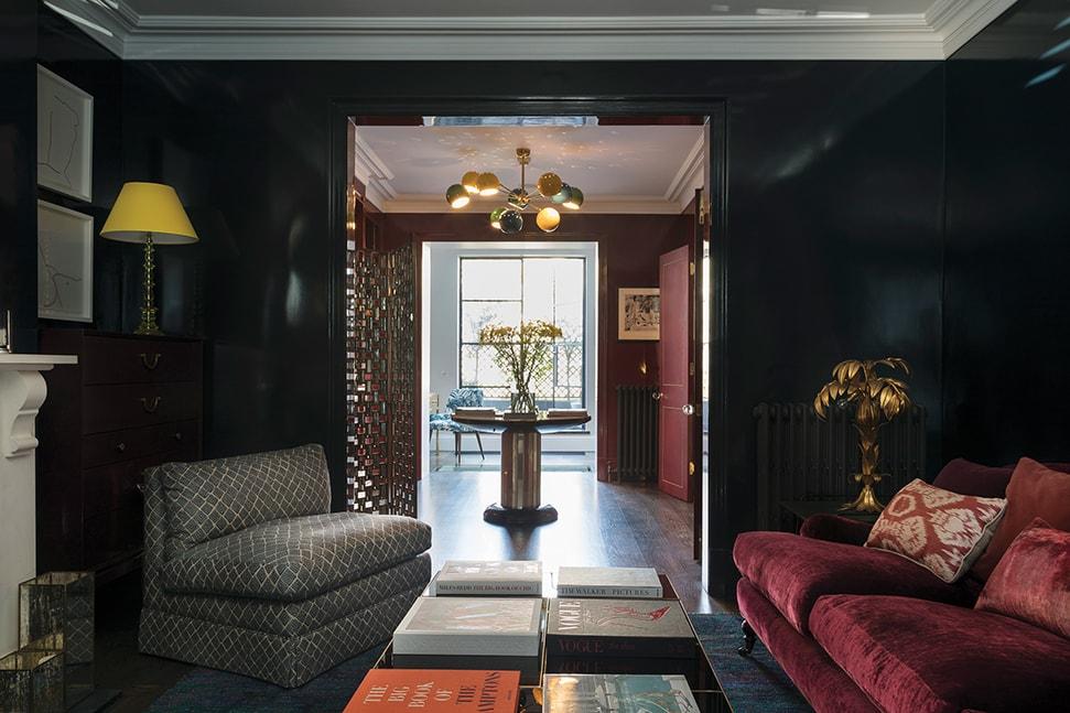 Poppy Delevingne'a living room