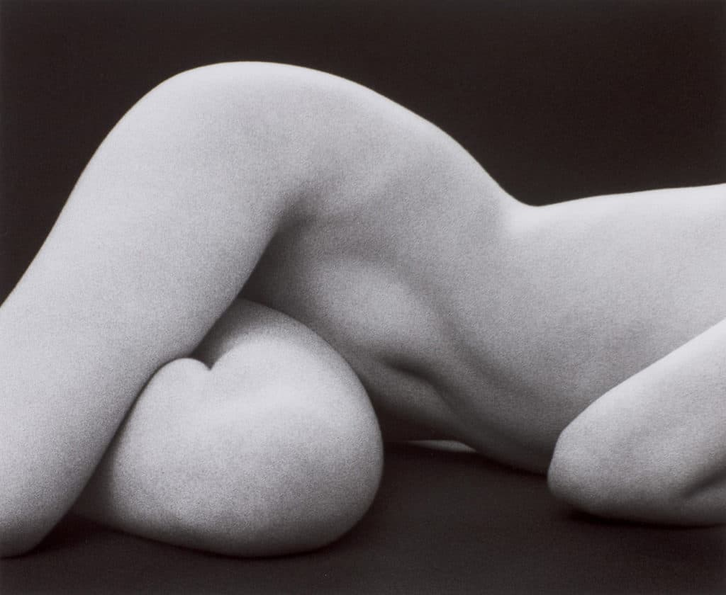 Ruth Bernard 1905-2006, Hips Horizontal, 1975