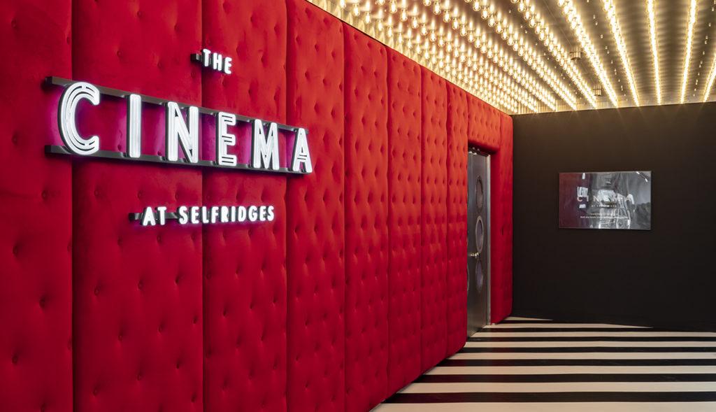 Selfridges Cinema