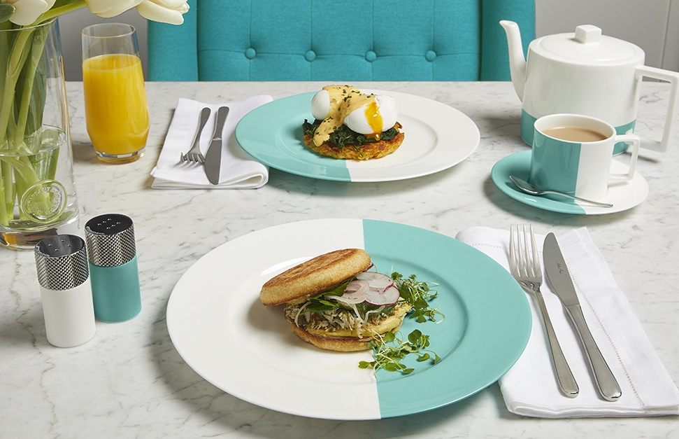 The Tiffany Blue Box Café opens at Harrods in London this Valentine's Day