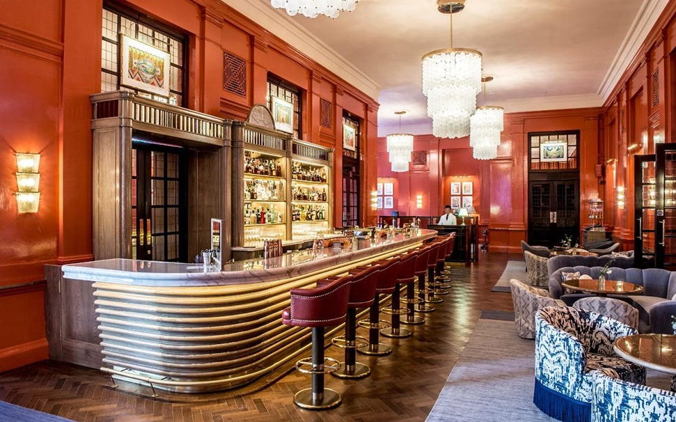 The Coral Room at The Bloomsbury