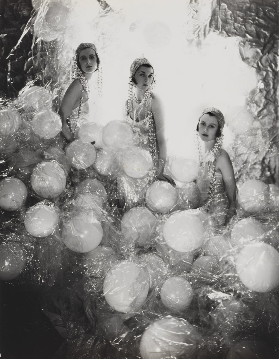 Baba Beaton, the Hon. Mrs Charles Baillie-Hamilton and Lady Bridget Poulett 1930 by Cecil Beaton