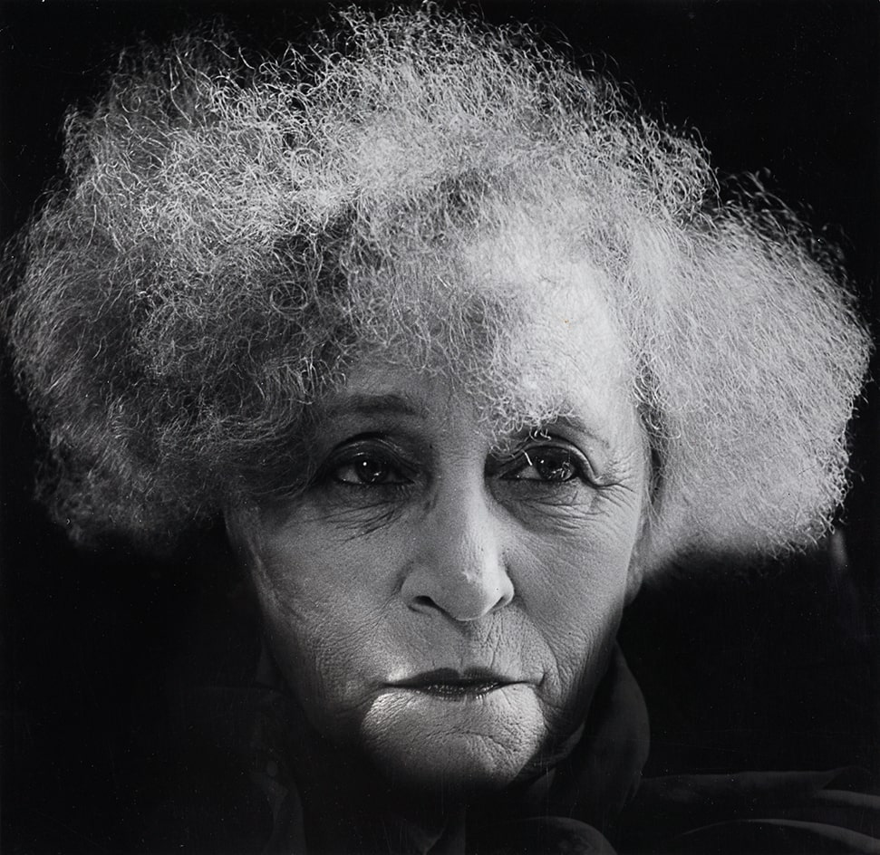 Writer Colette (Sidonie-Gabrielle Colette), 1954, Madame d'Ora (Dora Kallmus) (1881–1963) / Museum für Kunst und Gewerbe Hamburg. Photo: © Nachlass Madame d'Ora, Museum für Kunst und Gewerbe Hamburg