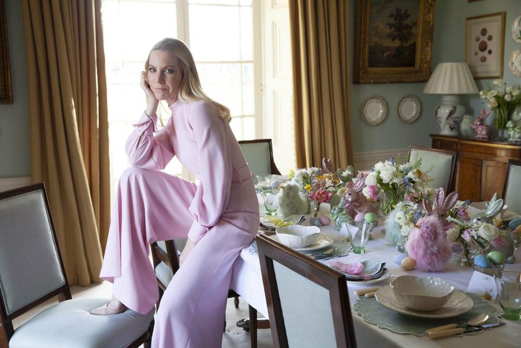 Alice Naylor-Leyland at home