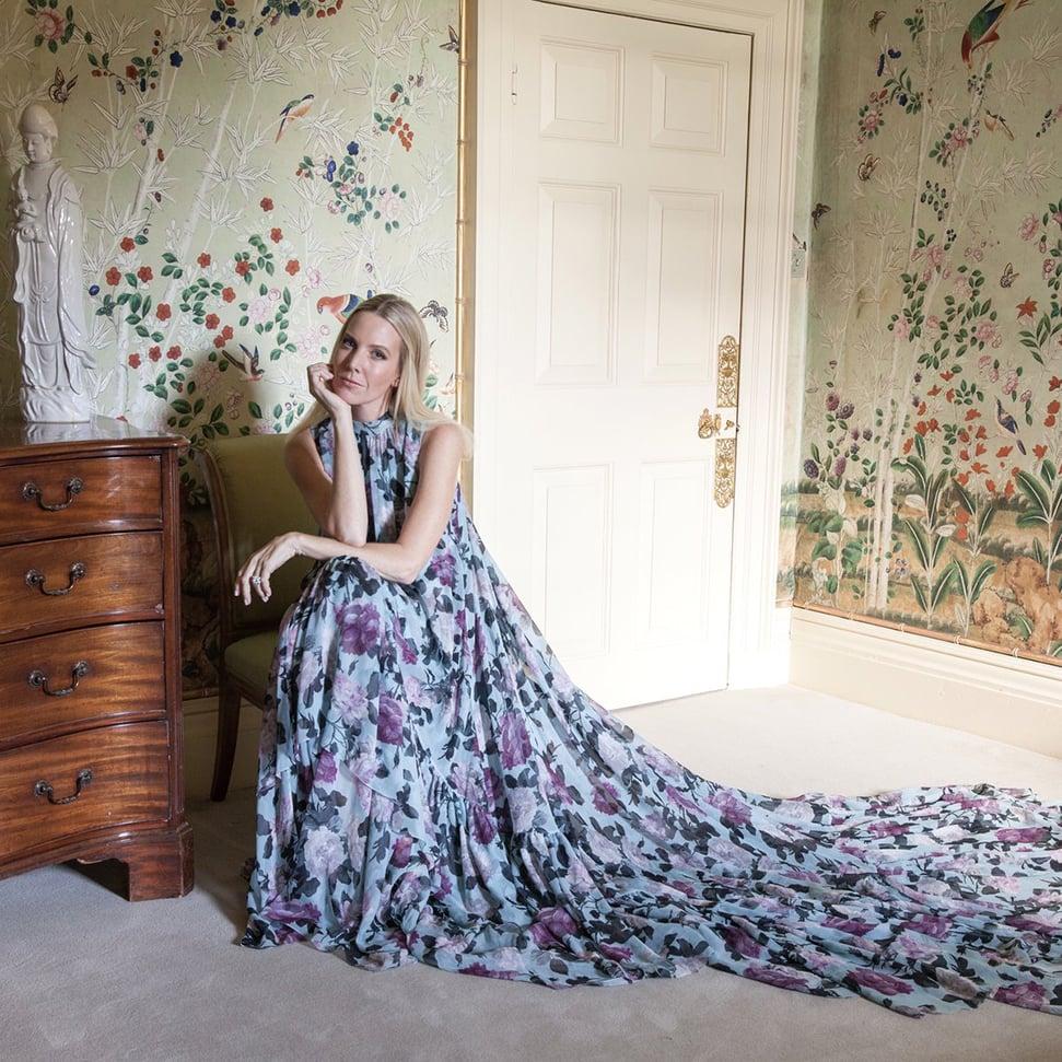 Alice Naylor-Leyland at home at Stibbington
