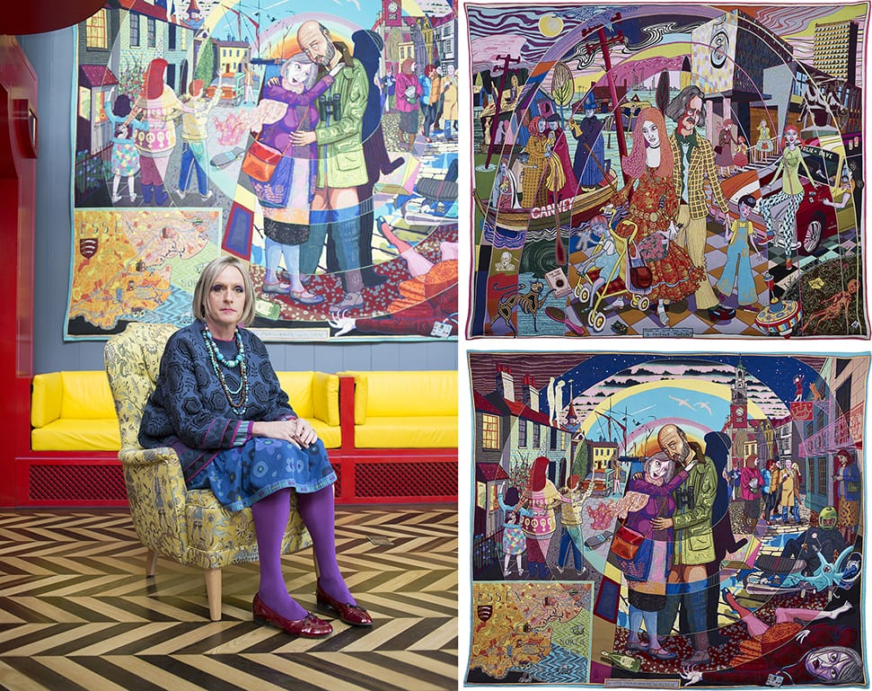 Grayson Perry Portrait, © Katie Hyams and Living Architecture