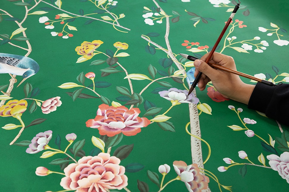de Gournay & Erdem production imagery