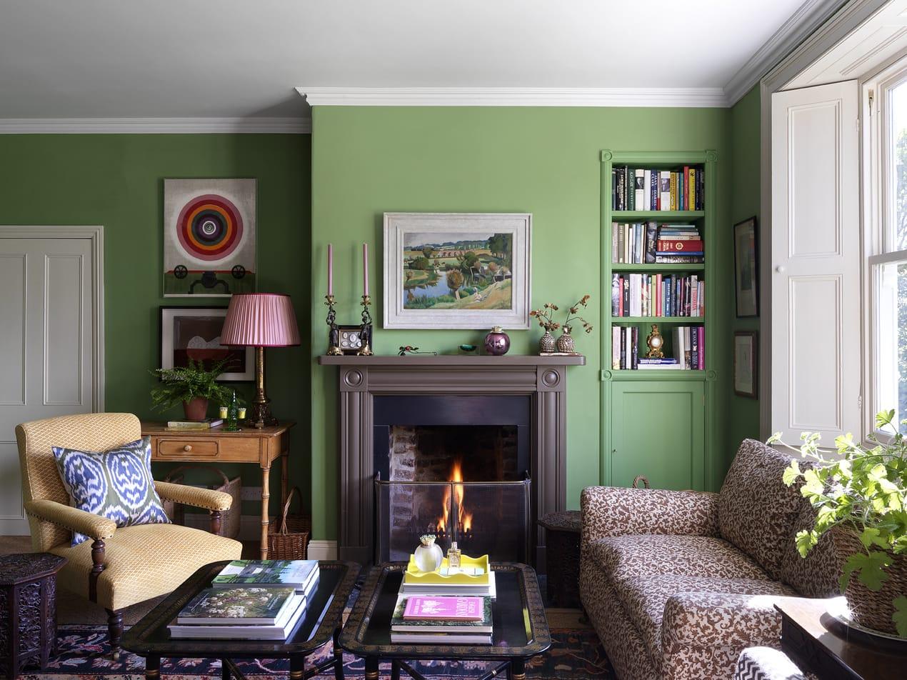 Rita Konig's living room