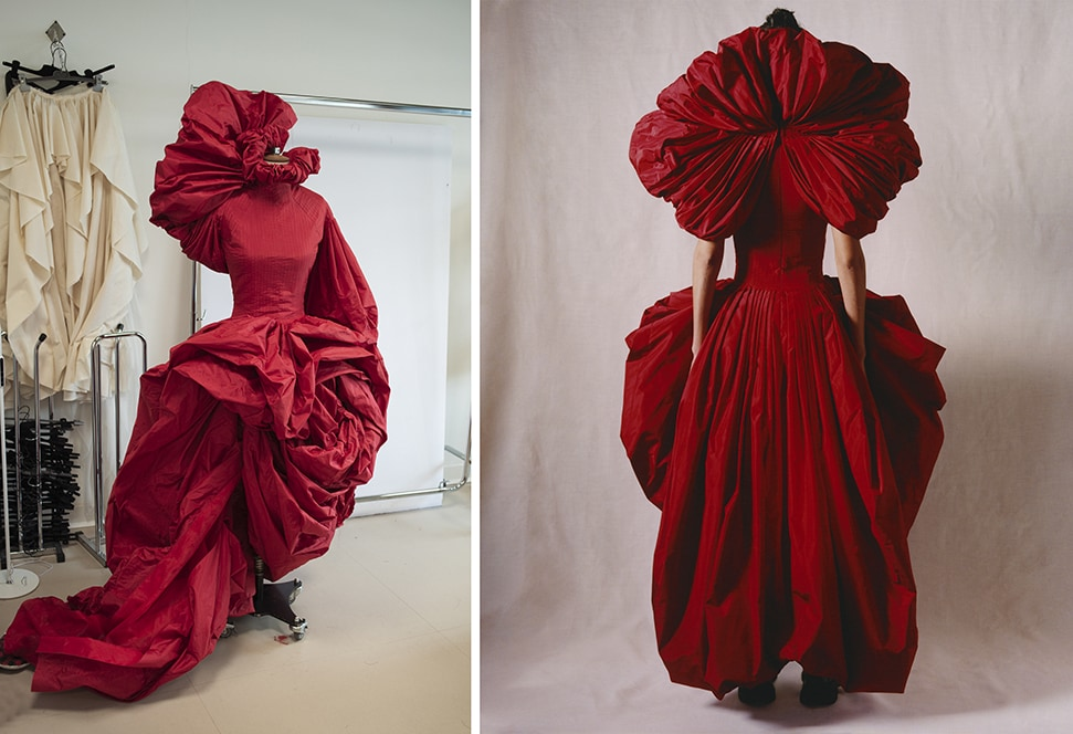 Roses dress by Alexander McQueen