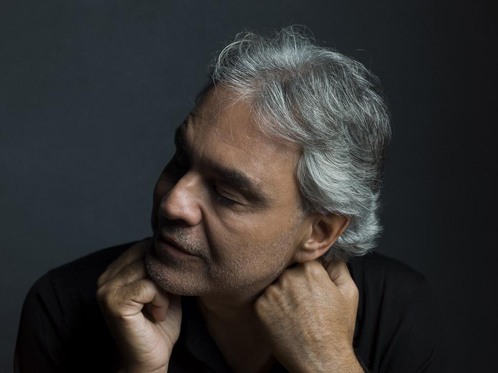 World-renowned Italian tenor Andrea Bocelli