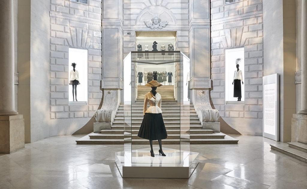 Explore Christian Dior's 1949 atelier through this captivating archive footage CHRISTIAN DIOR DESIGNER OF DREAMS SCENOGRAPHY 4 ©Adrien Dirand e1587574905138