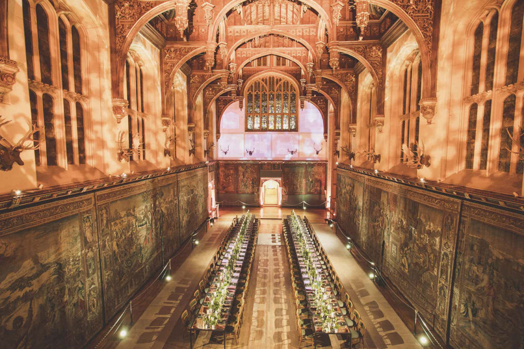 Dinners and recptions at Hampton Court Palace