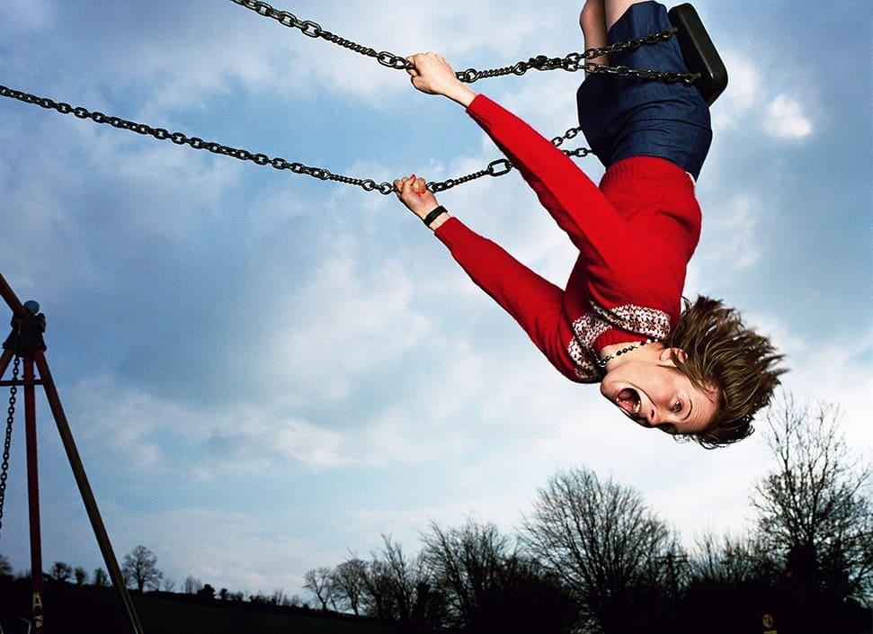 Elain Constantine Juliet on Swing 1999