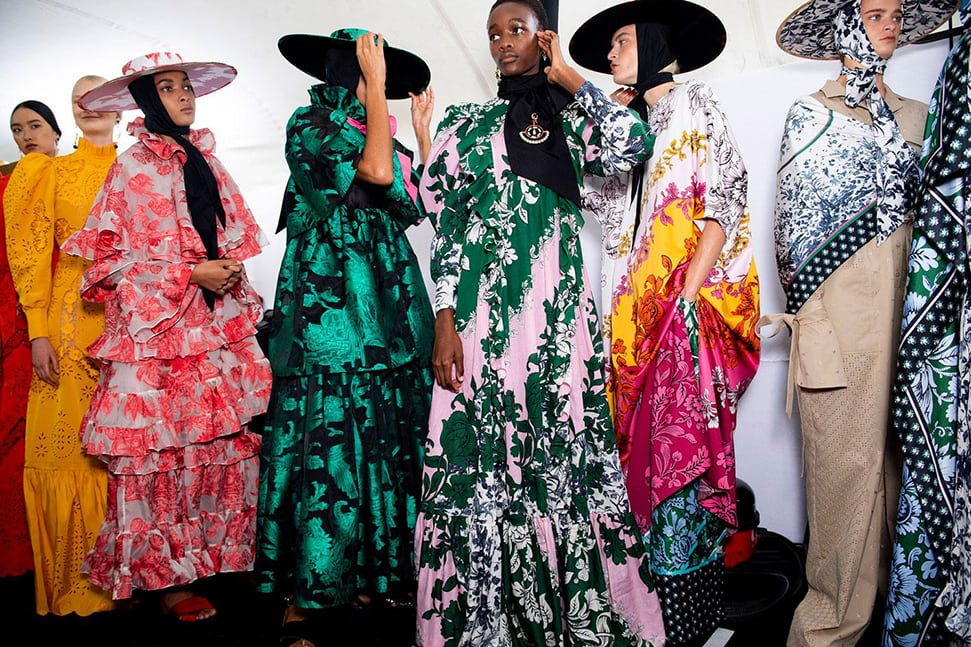 Erdem's S/S20 show from London Fashion Week