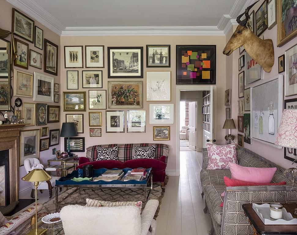 Rita Konig's London home