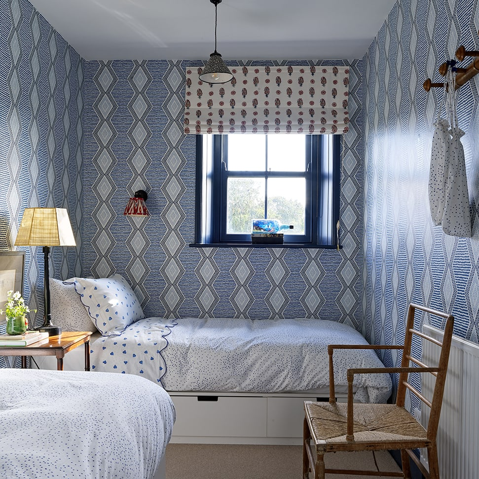 The children's bedroom at the farmhouse in North Farm, County Durham