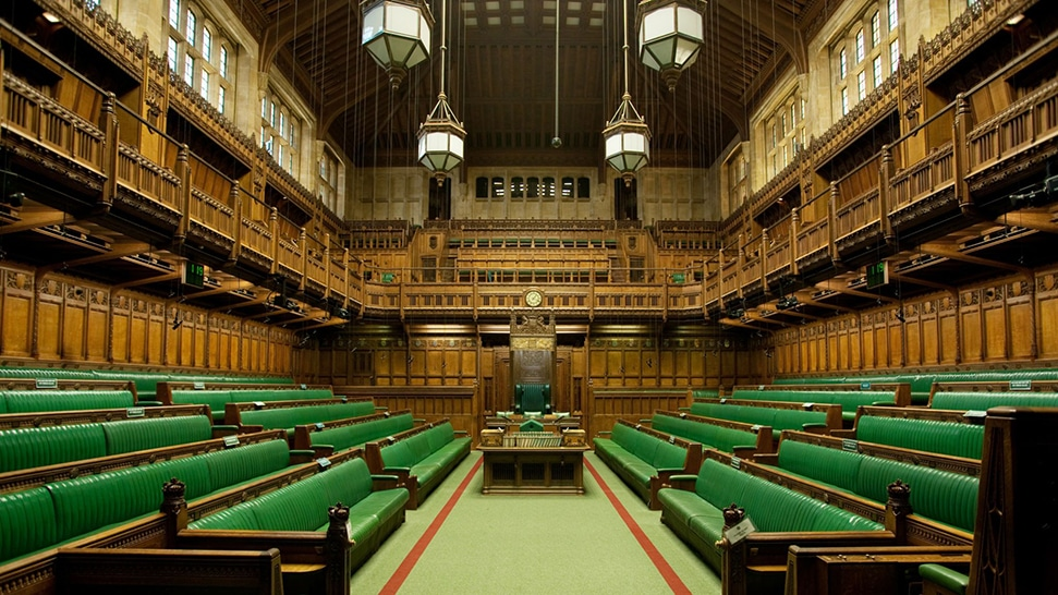 Chamber of the House of Parliament