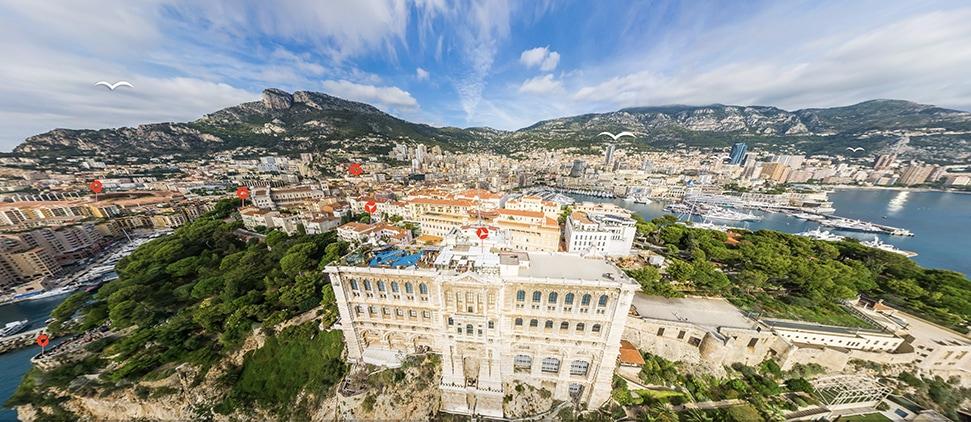 3D map of Monaco