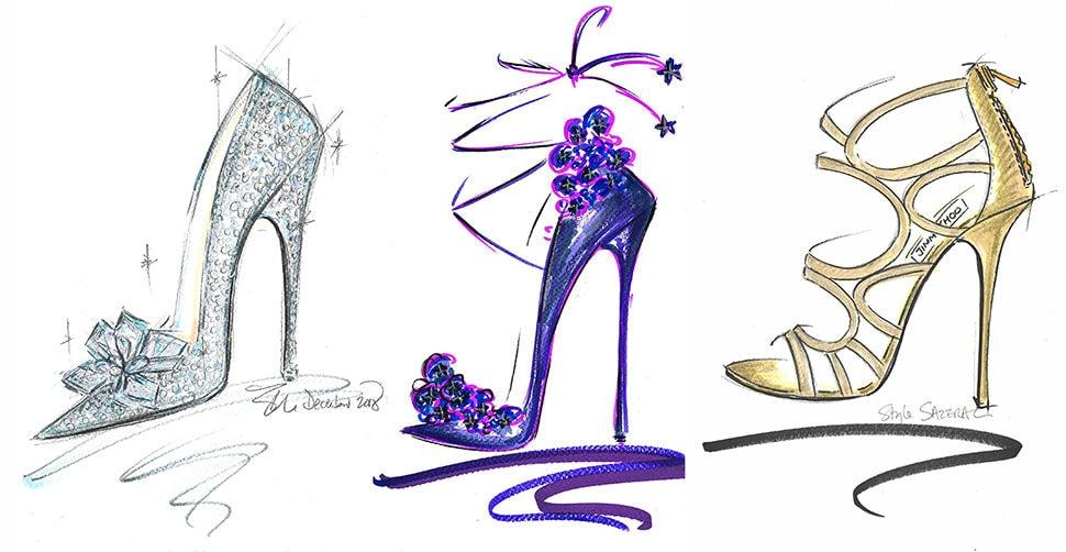 Jimmy Choo Sketch shoes