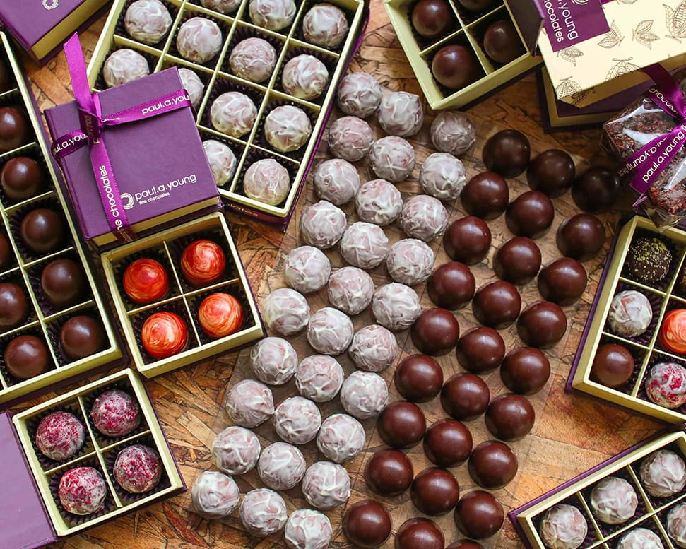 Young's Art of Chocolate Making Course takes his online apprentices through all the essentials from tempering, tasting and moulding chocolate to making truffles and ganache