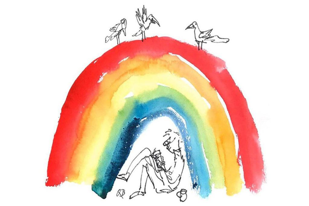 Rainbow 4 Quentin Blake