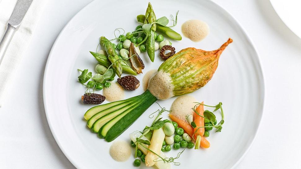 Raymond Blanc's live spring feast