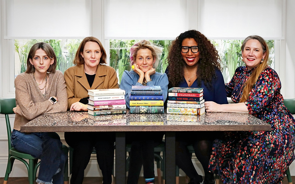 The 2020 judging panel for The Women's Prize for Fiction