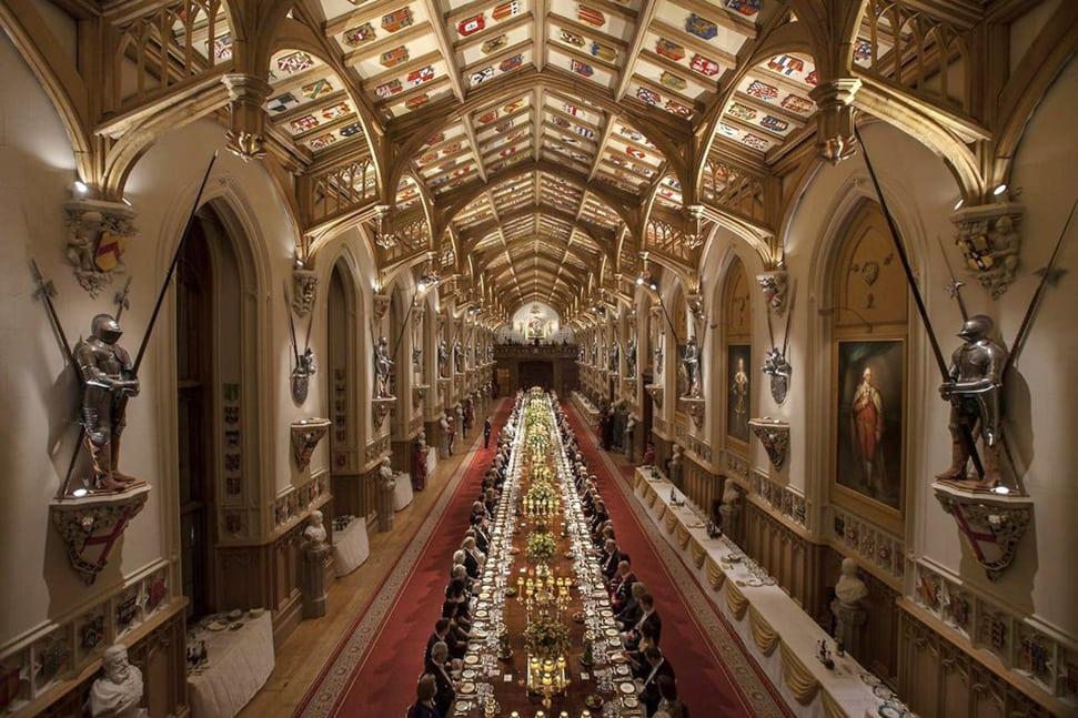 State Banquet at Windsor Castle