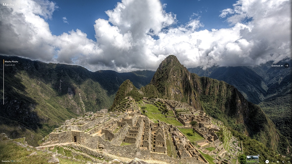 The heady views at Machu Picchu