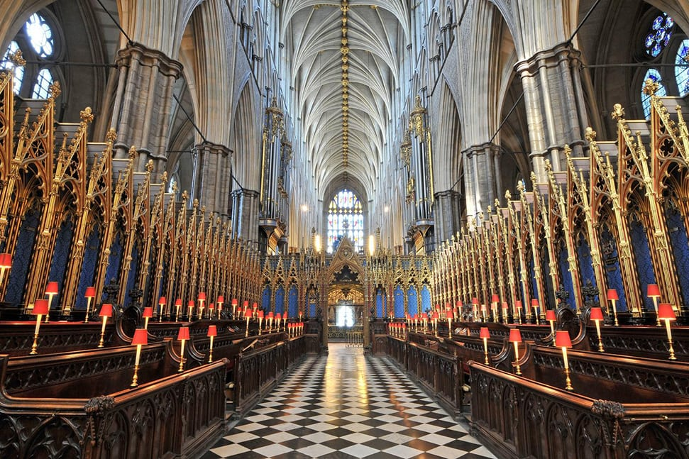The Quire at Westminster Abbey