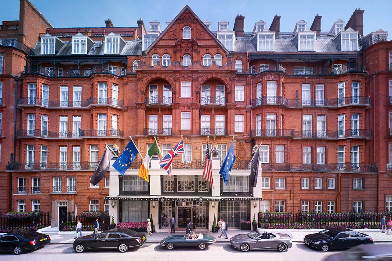 Claridge's offers free rooms to NHS staff during the coronavirus pandemic