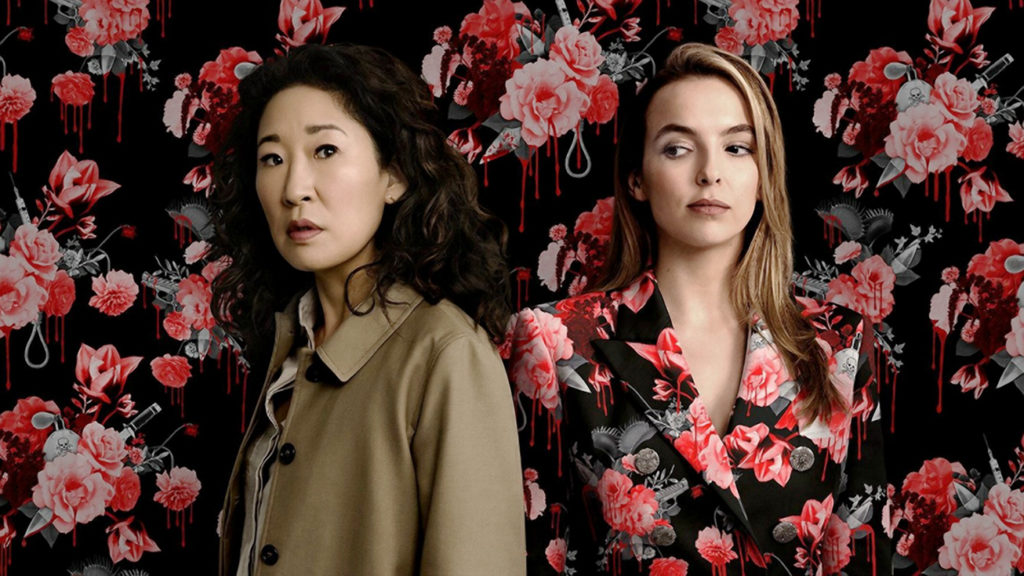 Sandra Oh and Jodie Comer in Killing Eve Season 3