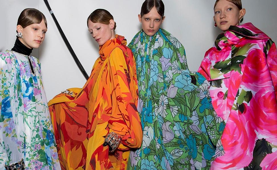 Richard Quinn's S/S20 show from London Fashion Week