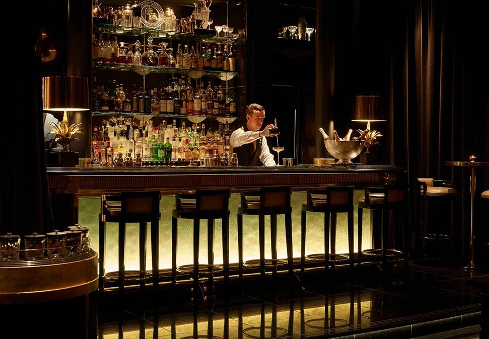 savoy Beaufort Bar booze brain