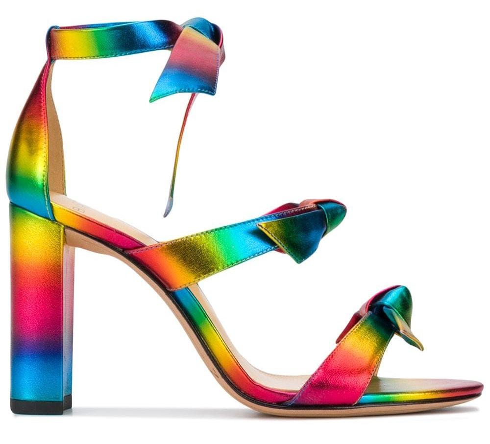 Alexandre Birman stripe sandals