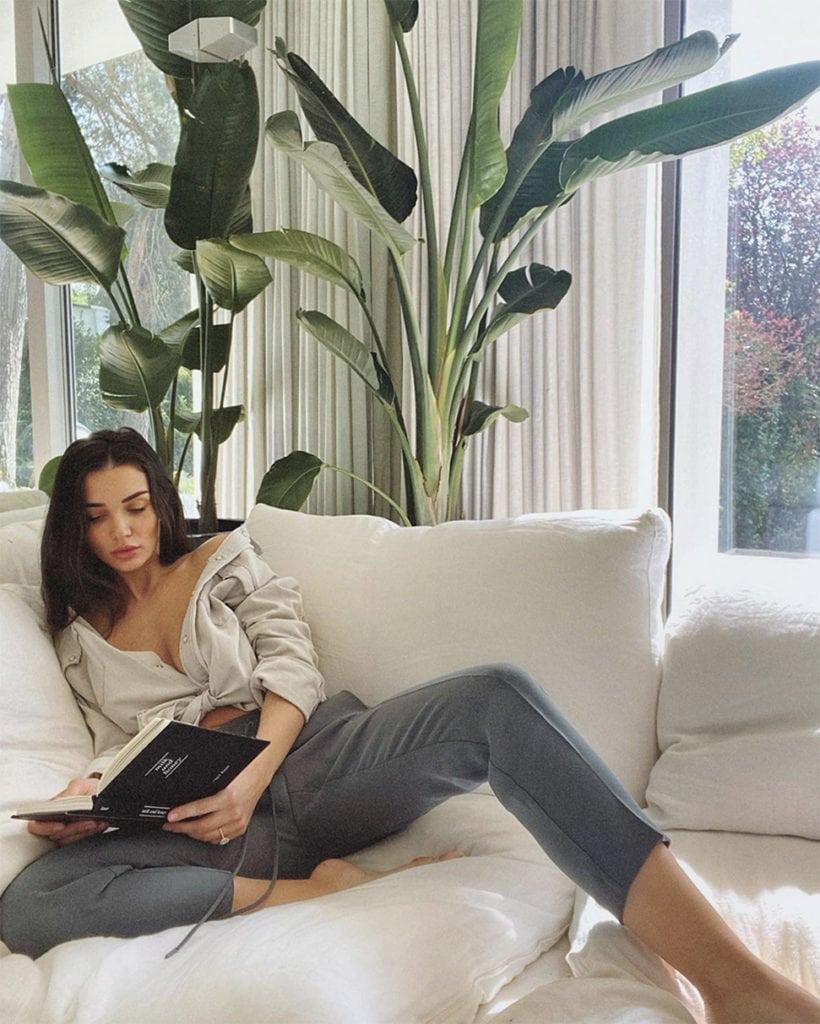Amy Jackson at home